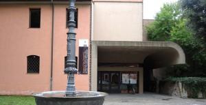 Museo di San Domenico con la fontana Scarabelli